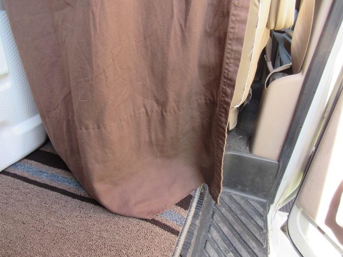 Van Privacy Curtain 4
